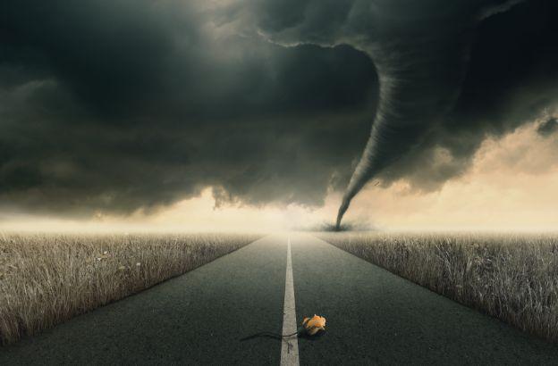 Come coltivare la calma interiore stando nell'occhio del ciclone